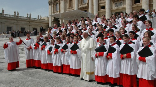Kathedrale Koor Paus Franciscus