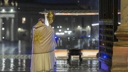 urbi et orbi Paus Franciscus corona