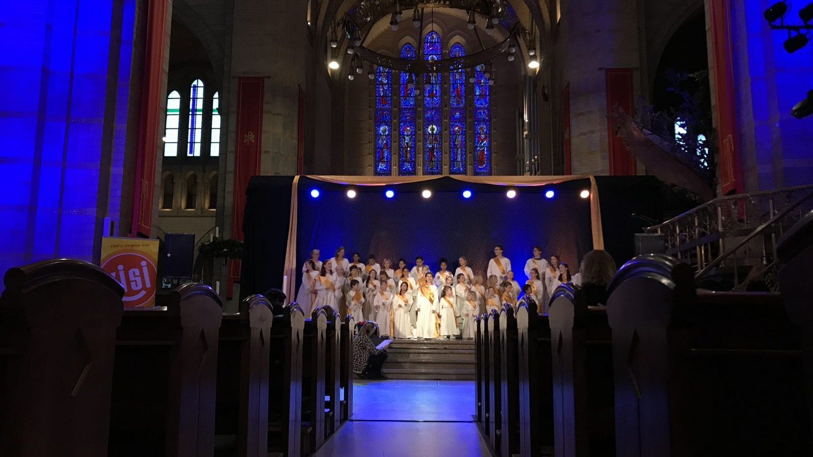 KISI Hemel op Stelten Bavo Kathedraal Haarlem kinderen