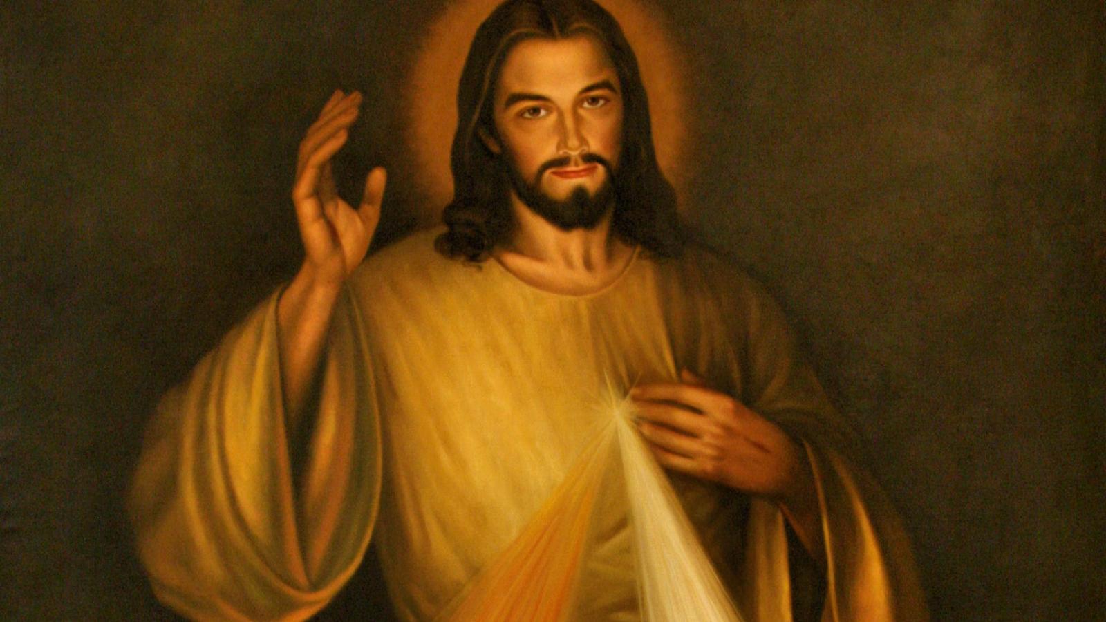 Goddelijke Barmhartigheid Jezus detail