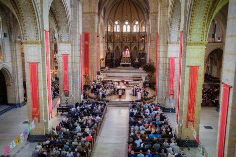 Eerste Communie Sint Bavo Kathedraal Haarlem
